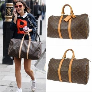 😍🙏😍Authentic Louis Vuitton Keepall 45 Gym Bag